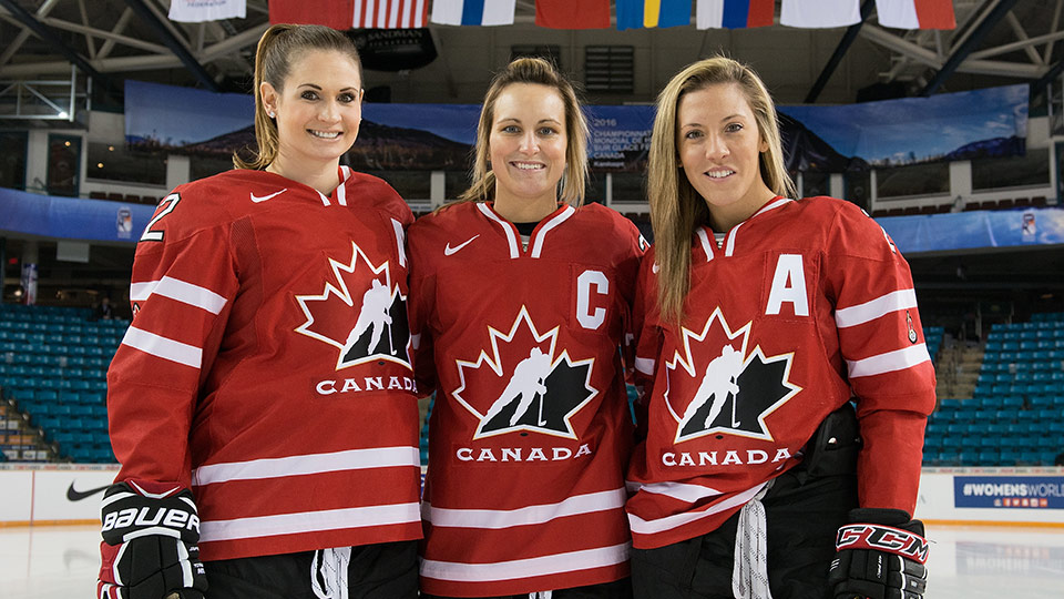 Canada Captures Silver at IIHF Women's World Hockey Championship